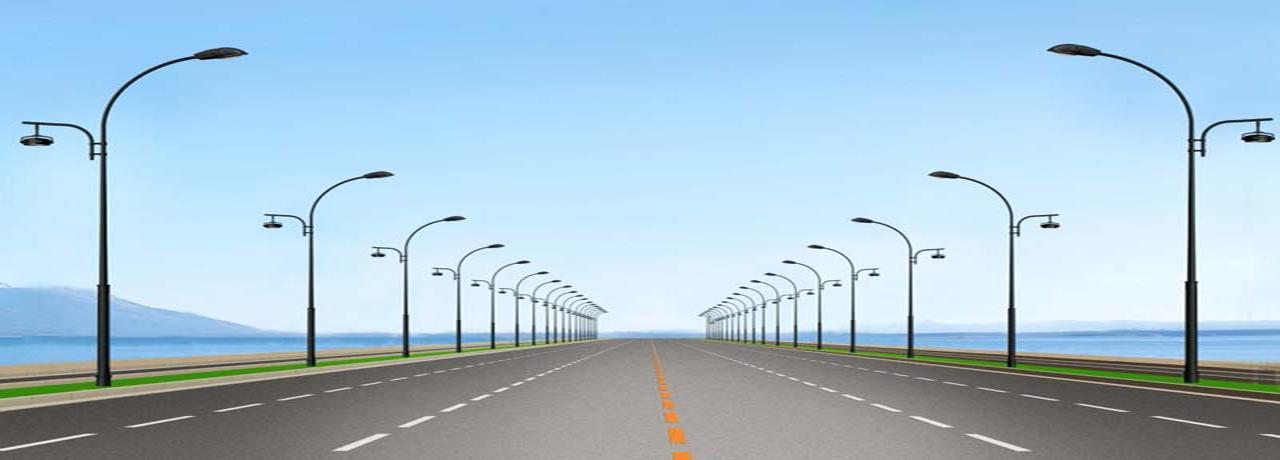 Street poles Solar